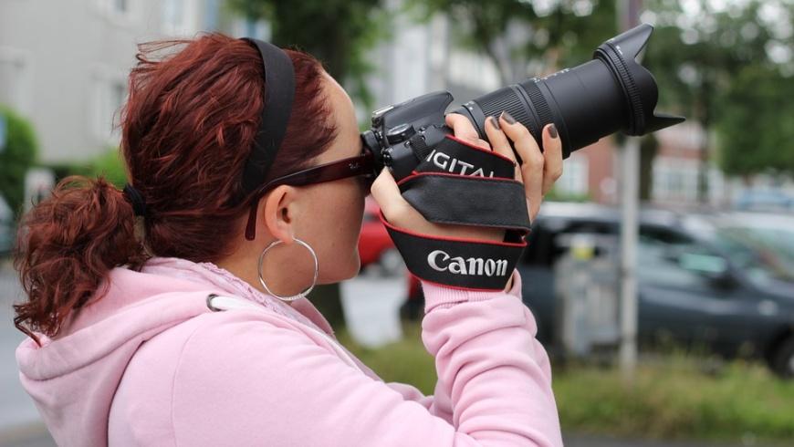 Fotoreporterin