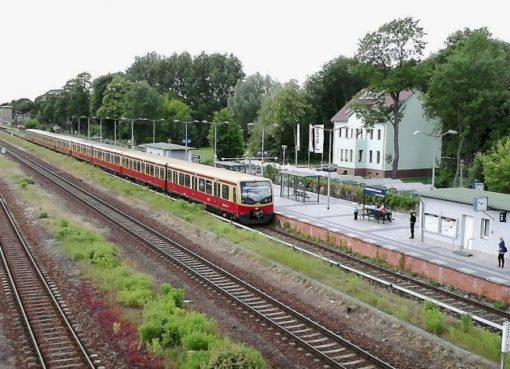 Ostbahn in Fredersdorf