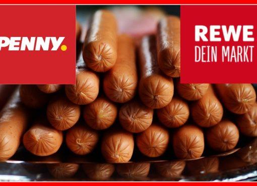 Produktrückrufe bei penny & rewe