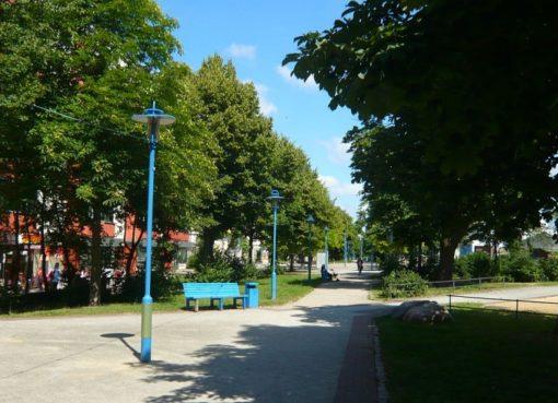 Boulevard Kastanienallee Hellersdorf
