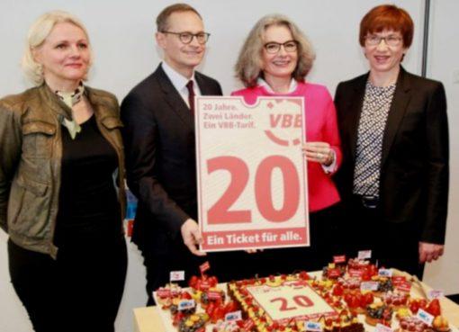 20 Jahre Verkehrsverbund