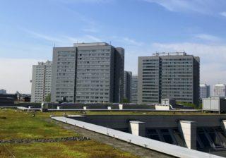 Begrüntes Dach der BWB-Unternehmenszentrale