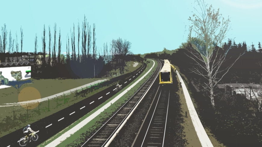 """""""Radbahn U5"""