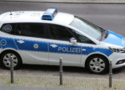 Streifenwagen der Bundespolizei