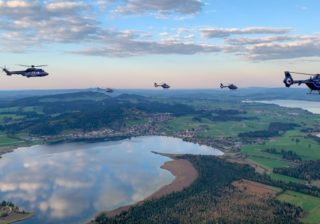Helikopter der Bundespolizei