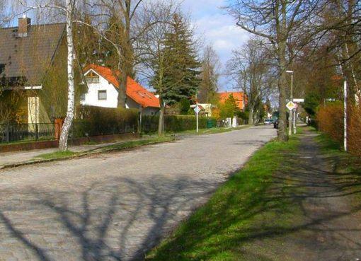 Lemkestraße in Mahlsdorf