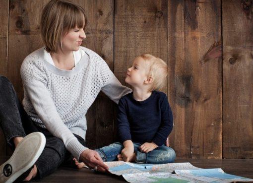 Alleinerziehende mit Kind