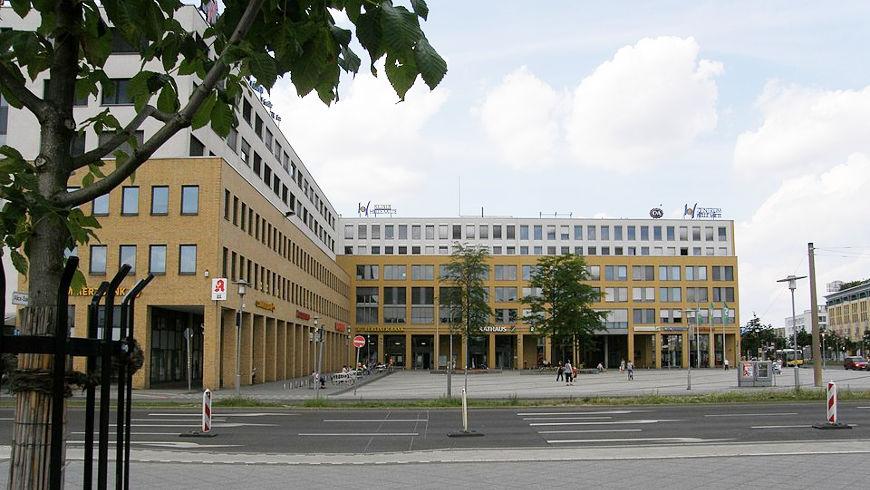 Rathaus und Bezirksamt von Marzahn-Hellersdorf