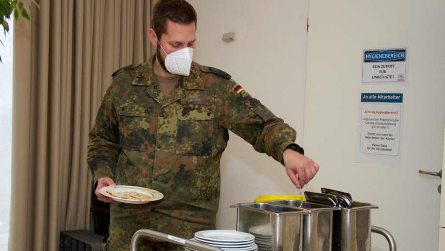 Bundeswehr hilft