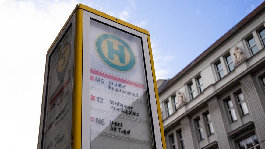 BVG Bushaltestelle